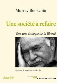 Couverture d'ouvrage: Une société à refaire