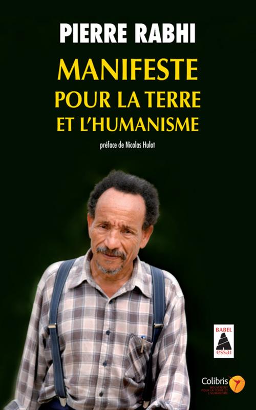 Couverture d'ouvrage: Manifeste pour la Terre et l'humanisme