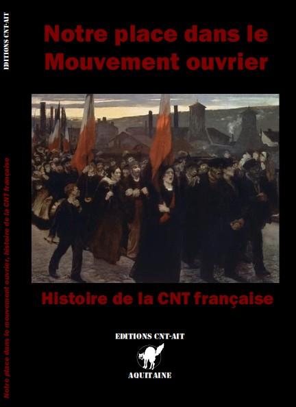Couverture d'ouvrage: Notre place dans le mouvement ouvrier