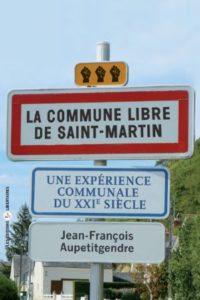 Couverture d'ouvrage: La commune libre de Saint-Martin