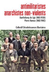 Couverture d'ouvrage: Antimilitaristes anarchistes non-violents